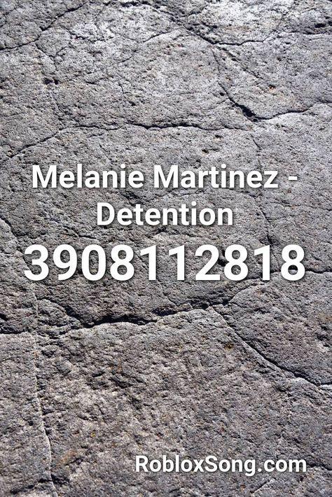 12 Melanie Martinez Id Codes For Roblox Youtube Melanie Martinez Detention Roblox Id Roblox Music Codes In 2020 With Images Melanie Martinez Roblox Nightcore