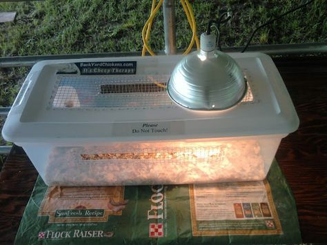 Way to attach hardware cloth to brooder tub lid.