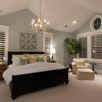 chambre avec un lit king size | Déco | Pinterest