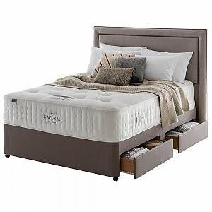 Silentnight Natural Pocket 1000 Divan Bed In 2020 Divan Sets New Beds Bed Mattress