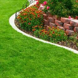 10 In H X 4ft W Rocklock Edging In 2020 Lush Lawn Lawn Garden Best Above Ground Pool