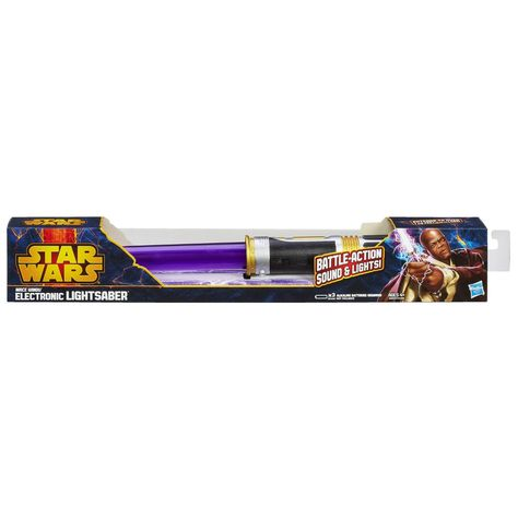 Star Wars Mace Windu Electronic Lightsaber Toy Lightsaber Toy Lightsaber Mace Windu