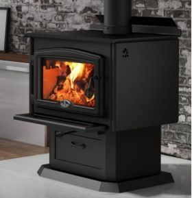 Home Stoves Wood Stoves Osburn 2000 Wood Stove With Blower Ob02015 Wood Stove Freestanding Fireplace Tiny Wood Stove