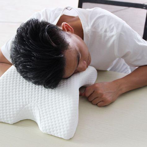 arm cuddling curved memory foam bed