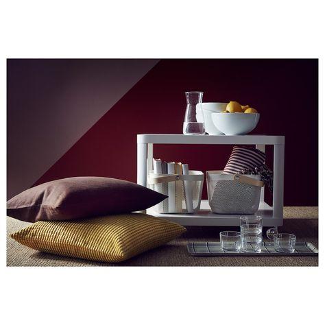 TINGBY Beistelltisch mit Rollen grau IKEA Österreich
