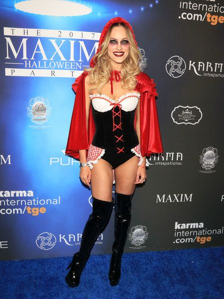 Peta Murgatroyd is seen attending the Maxim Halloween Party.