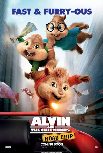 Movie Poster Designs - Alvin and the Chipmunks: The Road Chip (2015)