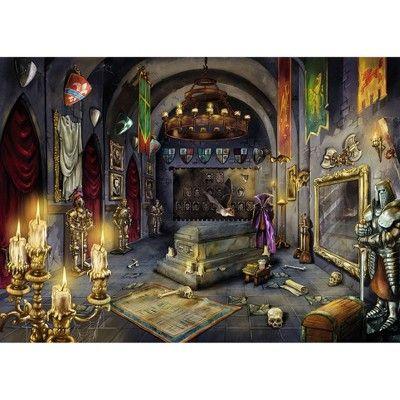 Ravensburger Escape Puzzle Vampire S Castle Puzzle 759pc Vampire Castle Escape Puzzle Vampire