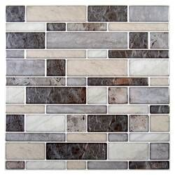 12 X 12 Pvc Peel Stick Mosaic Tile Herringbone Wall Tile Herringbone Wall Peel And Stick Tile