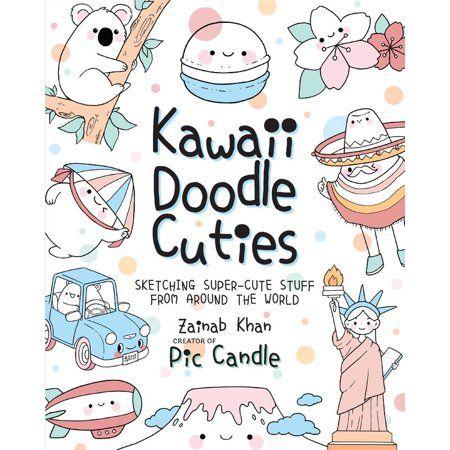 Kawaii Doodle Cuties Sketching Super Cute Stuff From Around The World Kawaii Doodles Pic Candle Doodles