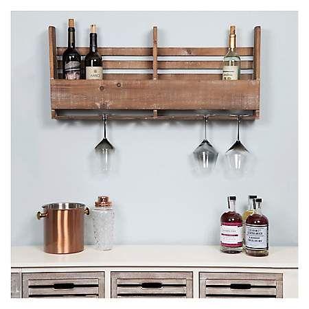 Reclaimed Wood Pallet Wine Rack Kirklands Wood Pallet Wine Rack Pallet Wine Bottle Wall