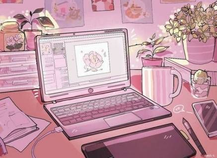 34 Trendy Ideas Pastel Pink Aesthetic Wallpaper Laptop Wallpaper Pastel Pink Aesthetic Aesthetic Anime Pink Aesthetic