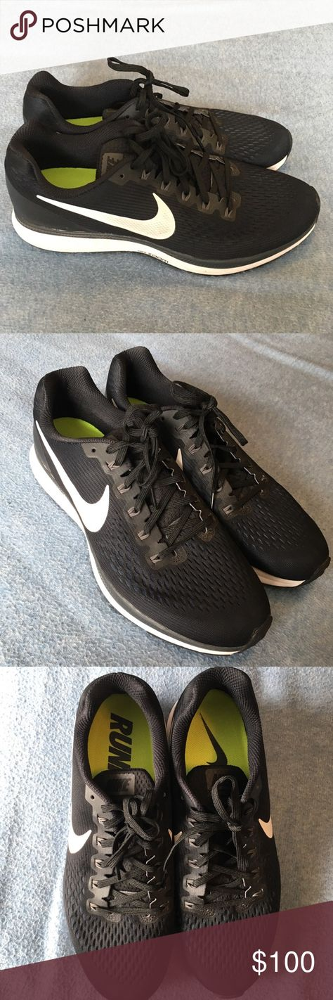1c6c8bfee74 Nike Zoom Pegasus 33 Black and White Men s - 12 Brand new - box included  Size