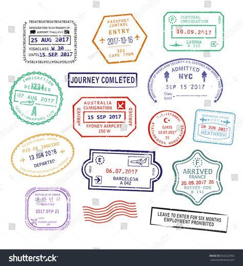 Australia Tourist Visa Stamp