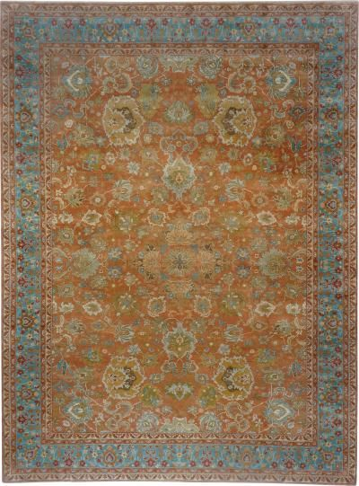 Contemporary Version Of An Old Axminster Carpet Measuring 13 Ft X 17 Ft 6 In By In 2020 Axminster Carpets Art Design Antiques