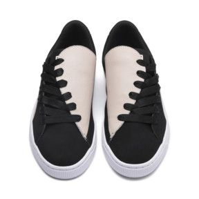 Sneakers, Silver Gray-Puma Black