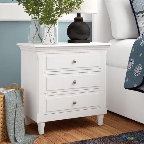 Wickes 3 Drawer Nightstand Decorațiuni Pentru Cameră Dormitoare Moderne Mobilă