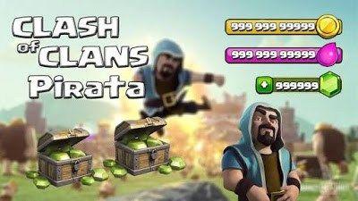 Clash Of Clans Pirata Hack Infinito V9 256 19 Clash Of Clans E