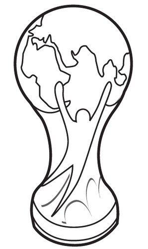 Resultado De Imagem Para Desenhos Para Colorir Taca Da Copa