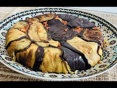 Riz Renverse Aux Aubergines Et Poulet Maklouba Syrienne Simplifiee Youtube En 2020 Cuisine Cuisine Arabe Aubergine