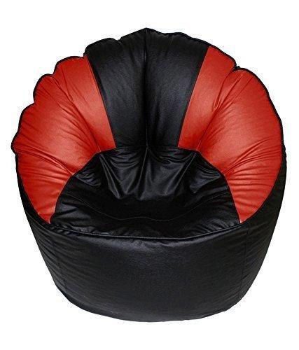 Remarkable Kj Bean Bag Original Xxxl Sofa Mudda Cover Red Black Color Creativecarmelina Interior Chair Design Creativecarmelinacom