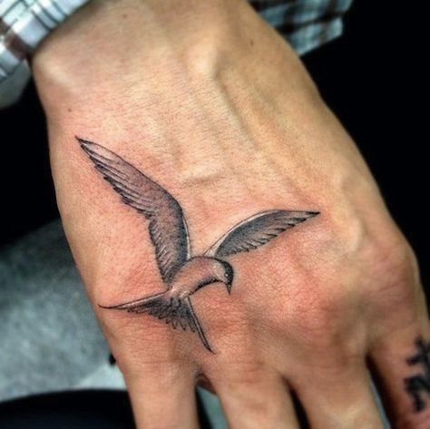 Small Simple Tattoos For Men 20 Best Small Tattoos For Men Dream Vs Bollywood Bird Hand Tattoo Bird Tattoo Men Little Bird Tattoos