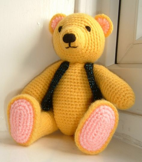 Teddy Bear Crochet Pattern Toys And More | The WHOot | 539x473