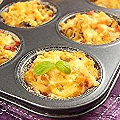 Photo of Klein, deftig und schnell auf dem Tisch: diese Nudelmuffins mit Gemüse und …