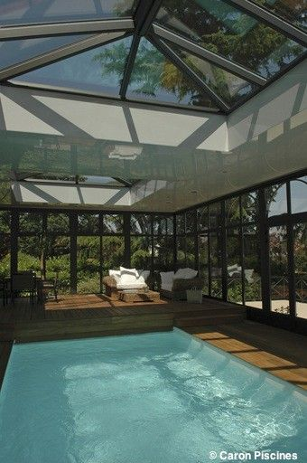 19 best Piscine couverte images on Pinterest Pool spa, Gardens and - Gites De France Avec Piscine Interieure