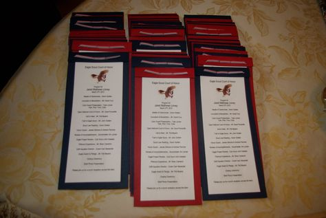 Eagle Scout Court Of Honor Program Template Preparing for jared court .