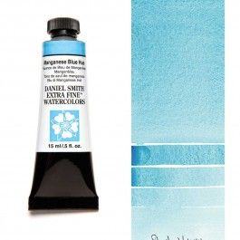 Daniel Smith Extra Fine Watercolor 15ml Manganese Blue Hue In 2020