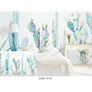 wallpaper dinding kamar anak perempuan warna biru