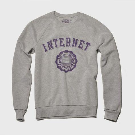 internet sweatshirt