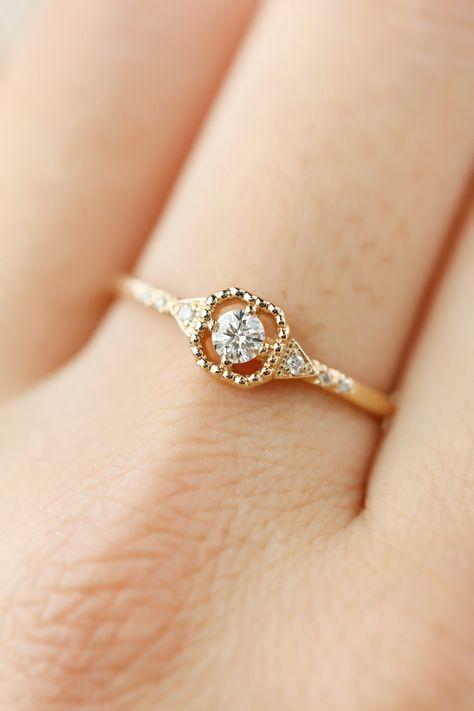 Decorative Square Diamond Ring 0 12ct In 2019 Unique Diamond