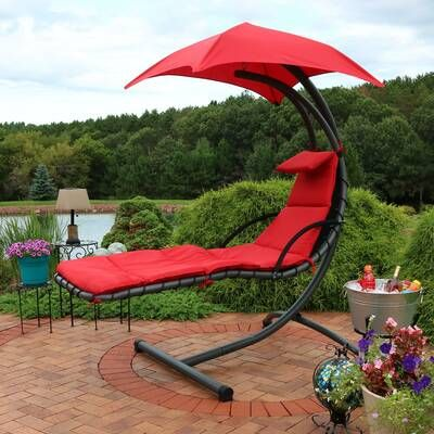 Flying Saucer Chair Hammock With Stand Hanging Swing Chair