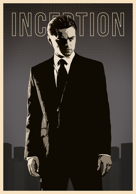 Inception poster by Deluxepepsi on DeviantArt