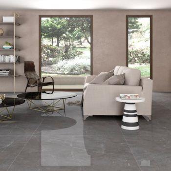 Carrelage Interieur Effet Beton Serie Concept Avec Reflex Carrelage Carrelage Interieur Table Basse Decoration Contemporaine