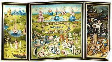 Hd The Garden Of Earthly Delights Full By H Bosch High Definition Original Colors Poster By Mindthecherry In 2021 Garden Of Earthly Delights Hieronymus Bosch Poster Prints