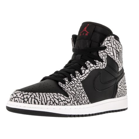 Nike Jordan Men's Air Jordan 1 Retro High /Gym Red/CMint Grey/Anthracite Basketball Shoe