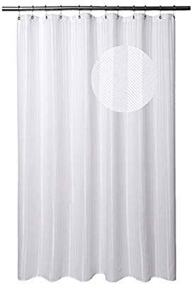 Amazon Com Barossa Design Long Shower Curtain Fabric With 78