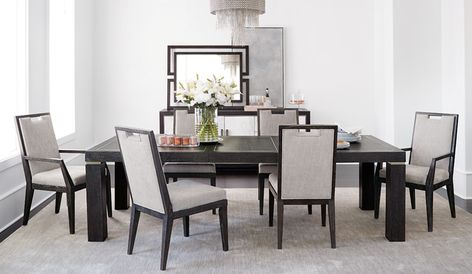 Bernhardt Furniture Company Dining Room Contemporary Side Chairs Dining Furniture
