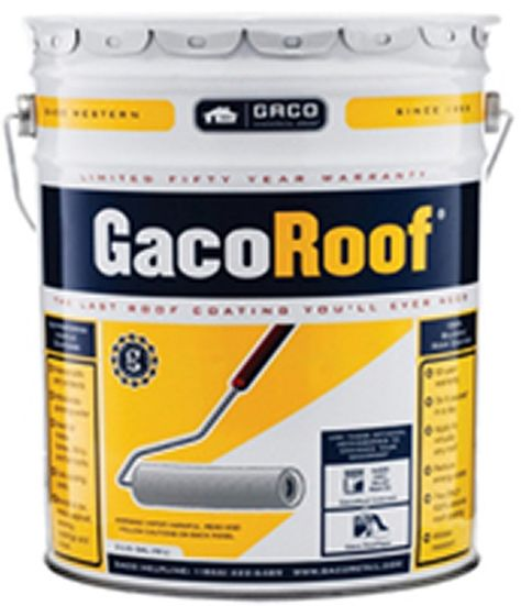Gacoroof 100 Silicone Roof Coating Roof Coating Roof Sealant Elastomeric Roof Coating