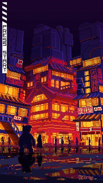 10 Weird Architecture Sights In Tokyo Japan Part 2 Dewildesalhab武士 Cool Pixel Art Pixel Art Pixel Art Background