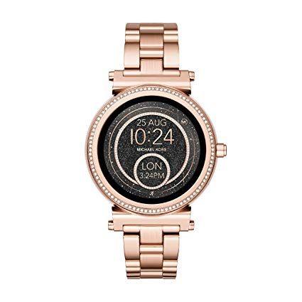 Michael Kors Damen Smartwatch Sofie Mkt5022 Michael Kors Uhr Smartwatch Damenuhren