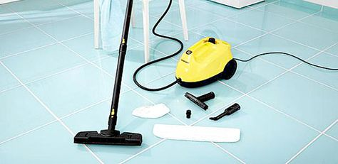 How to clean grout the quick and easy way? The answer is really easy. Get yourself a grout steam cleaner ! :)