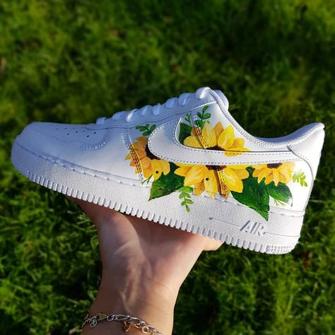 painted shoes Behind The Scenes By danibee. Custom Painted Shoes, Custom Shoes, Custom Af1, Jordan Shoes Girls, Girls Shoes, Nike Shoes Air Force, White Nike Shoes, Aesthetic Shoes, Cute Sneakers