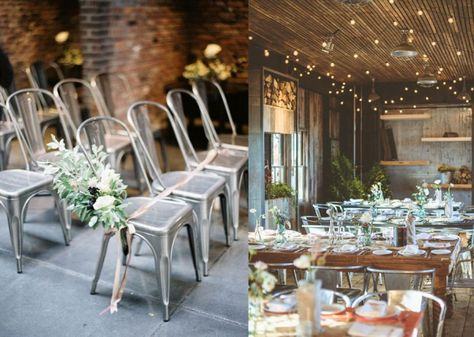 Industrial Chic Wedding Ideas Pittsburgh Weddings Pinterest