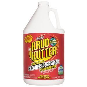 Krud Kutter 1 Gal Original Concentrated Cleaner Degreaser Kk012 In 2020 Degreasers Cleaning Wood Krud Kutter