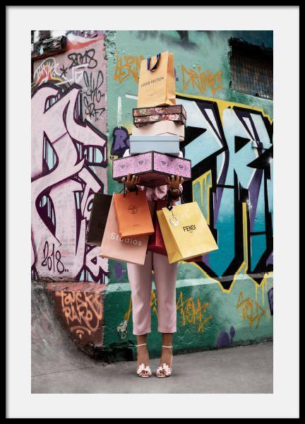 Shopping Spree Poster Prints Online Wall Art Modern Art Prints