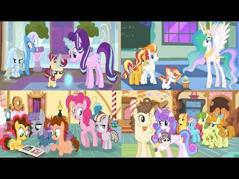 Mlp Next Gen Families Tribute Youtube Family Tribute Mlp Tribute